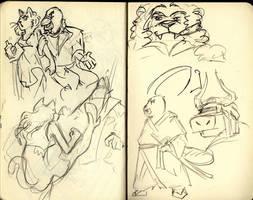 sketch aleatorios by RochaSketch