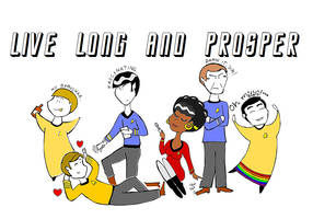 Live long and prosper by SzyszkaKultury
