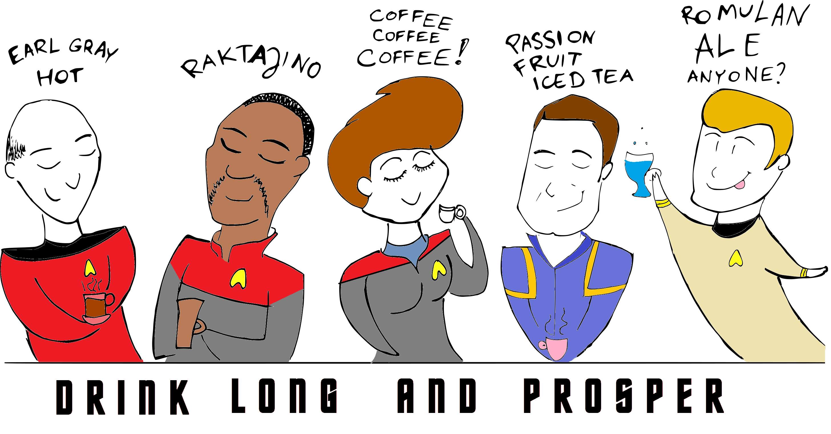 Drink long and prosper by SzyszkaKultury