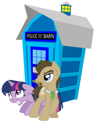Doctor Whooves and the Harnis by Inkwell-Pony