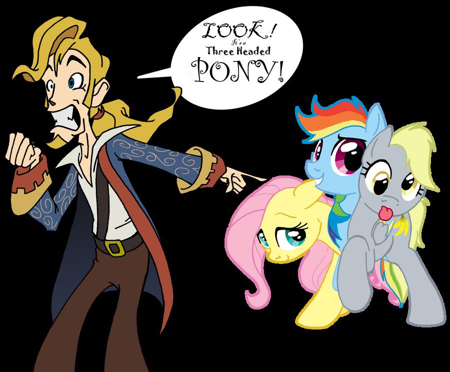 Random & Crazy Pictures - Page 5 The_secret_of_pony_island_by_inkwell_pony-d3bfzfa