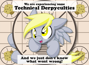 Technical Derpyculties Vector by MuniversalArts