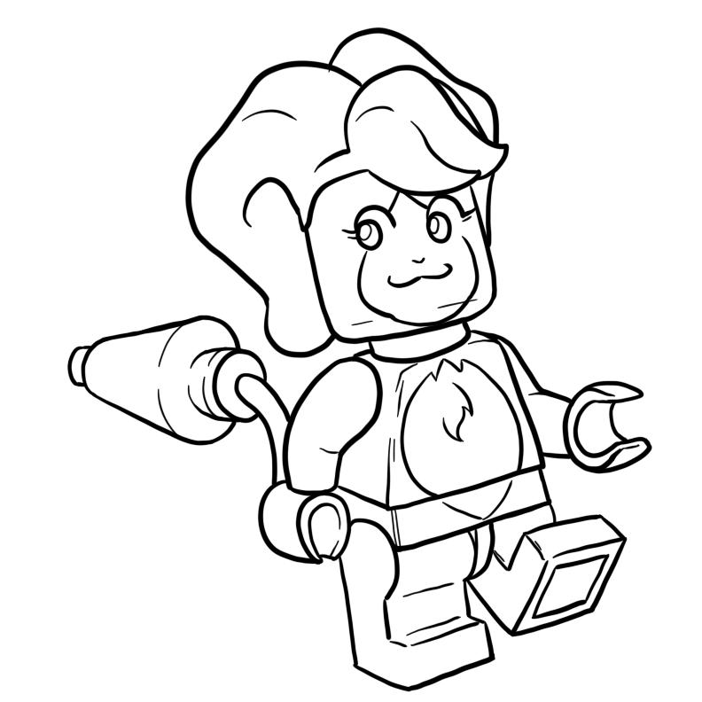 On a Lego Kick by Inkwell-Pony