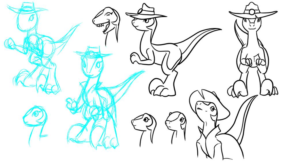 BDay Adoraptors by Inkwell-Pony