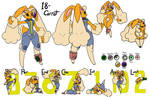 18 Carrot Character Sheet