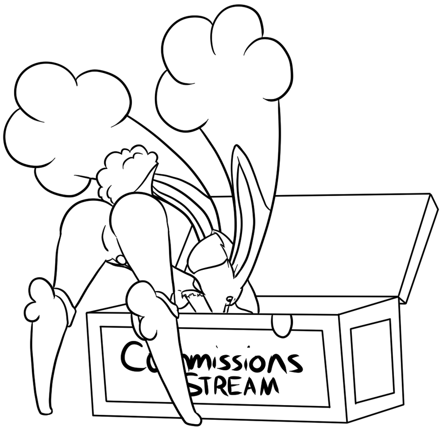 Working on Commissions by Inkwell-Pony