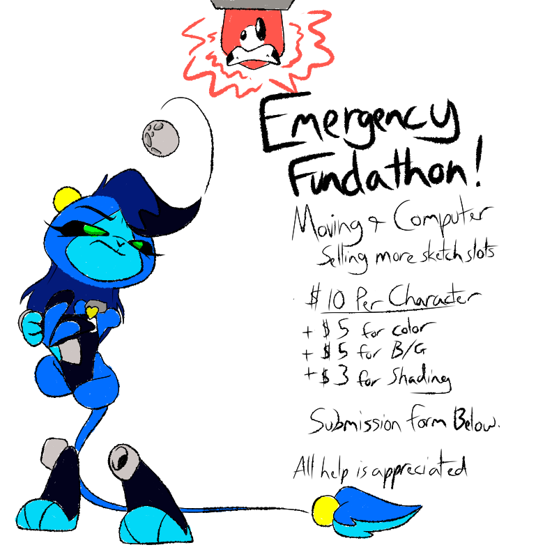 Emergency Fundathon Continues! by Inkwell-Pony