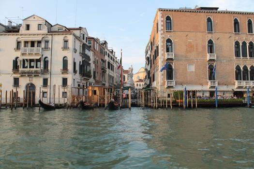 Small pier, Venice