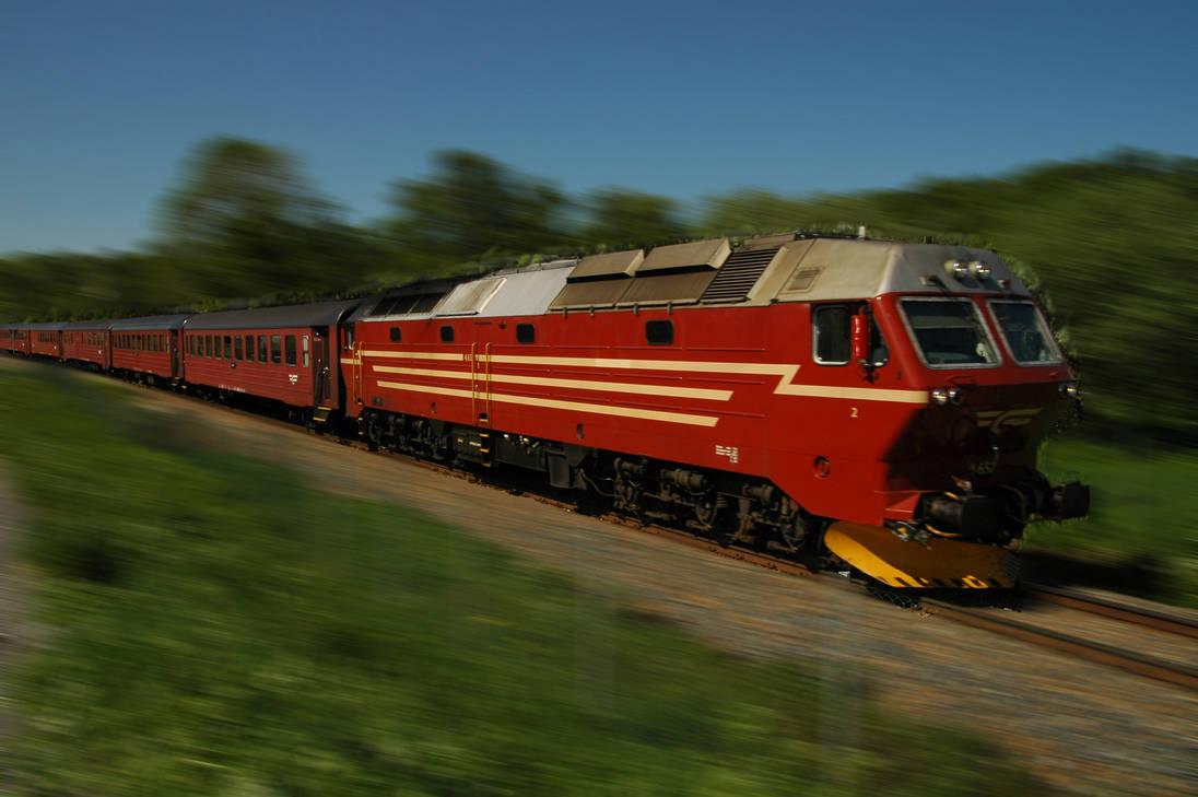 Norwegian passenger train