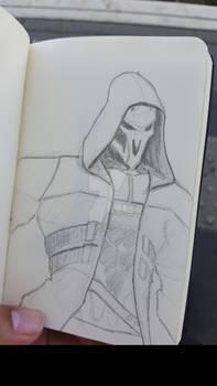 Sketch-a-day #07 - Reaper