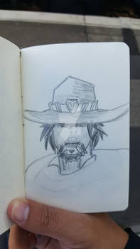 Sketch-a-day #20 - It's High Noon