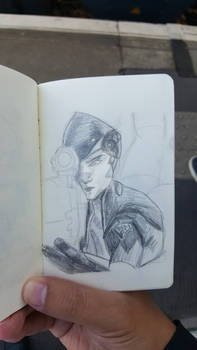 Sketch-a-day #21 - Widowmaker