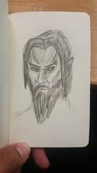 A Dark Elf Male