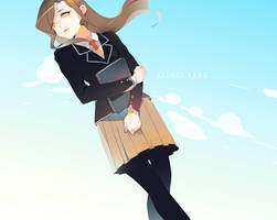 Highschooler Jaehee by Purikyu