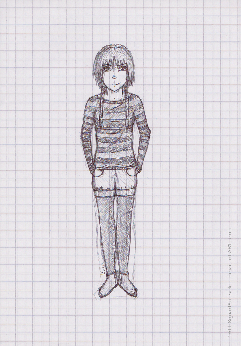 Weekly Sketch #5: Elyon by 16thSquadSanseki