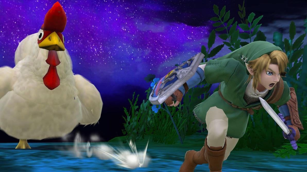 Link's Nightmare.... by Data-Drainz