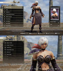 Soul Calibur VI: Cia (Hyrule Warriors.) by Data-Drainz