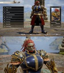 Soul Calibur VI: Ganondorf (Hyrule Warriors.) by Data-Drainz