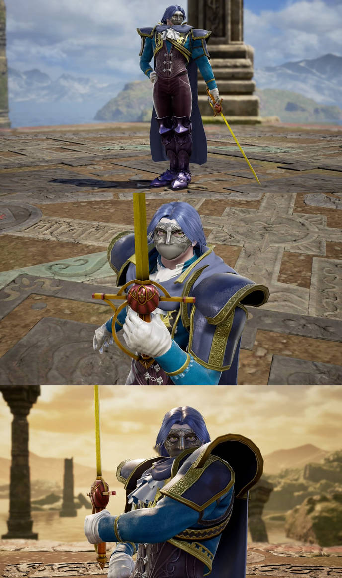 Soul Calibur VI: Human Meta Knight by Data-Drainz