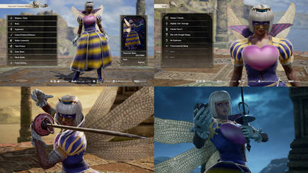 Soul Calibur VI: Queen Sectonia Gijinka (Kirby)