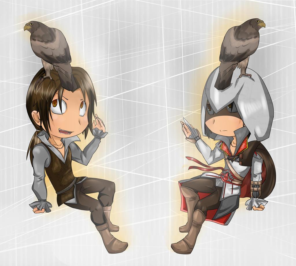 Chibi Ezio by autodi