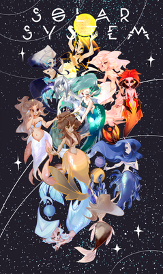 space mermaids