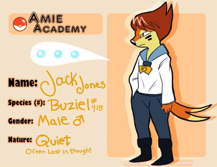 Amie-Academy: Jack by mellocat