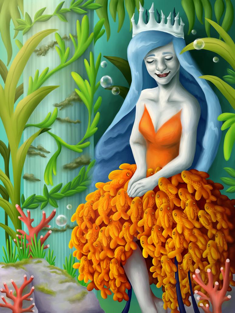 Sea Garden by mellocat