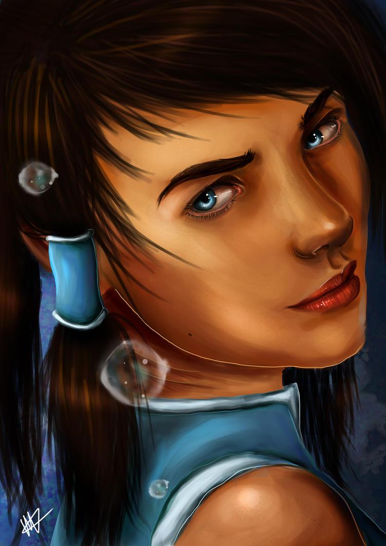Avatar Korra by HTivey