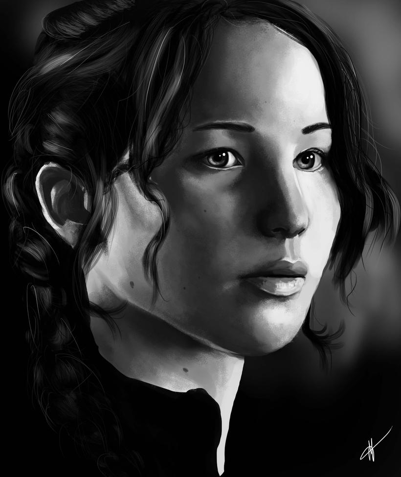 Katniss Everdeen by HTivey