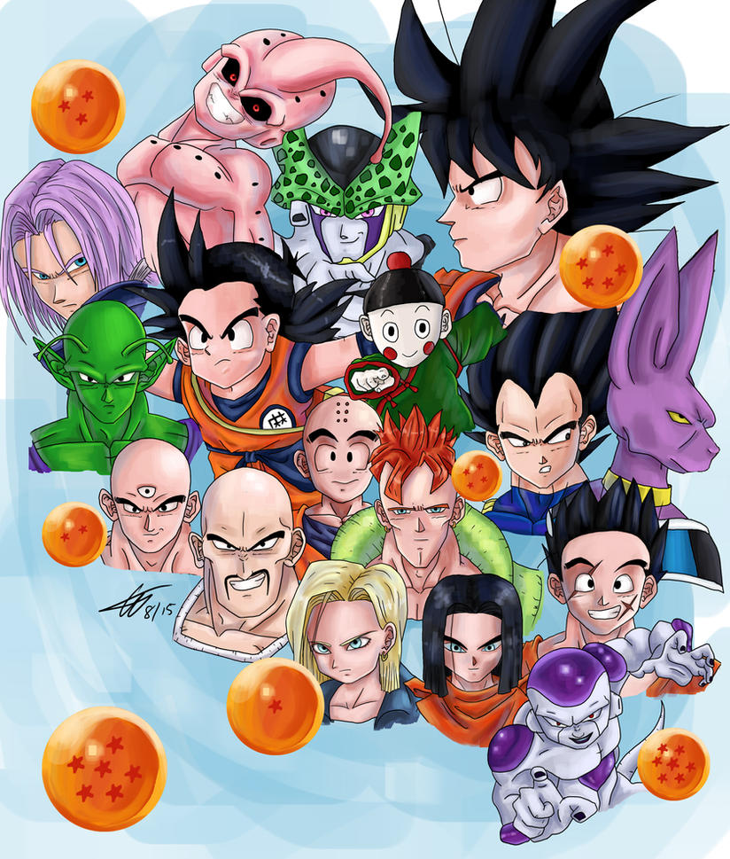 Dragon Ball Z by HTivey