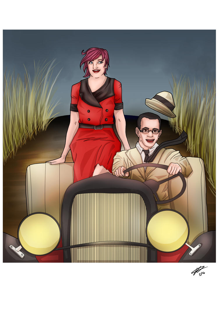 Bonnie and Clyde by HTivey