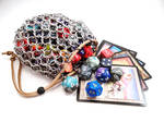 Large Chainmail Dice Bag or Pouch