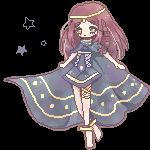 Aleine pixel by Cheriin