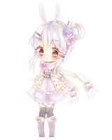 COMM: bunny girl by Cheriin
