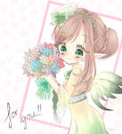 A flower for you! by Cheriin