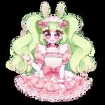 Bonbon Bunnytrans by Cheriin