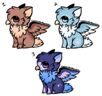 [Open 2/3] Griffin Adopts by RoleplayGeek