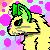 The Cheer cat's request- PIXEL HEADSHOT EXAMPLE by Miski-The-Nekowolf