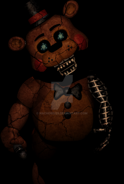 Old Freddy Toys : Old toy freddy by nacho on deviantart