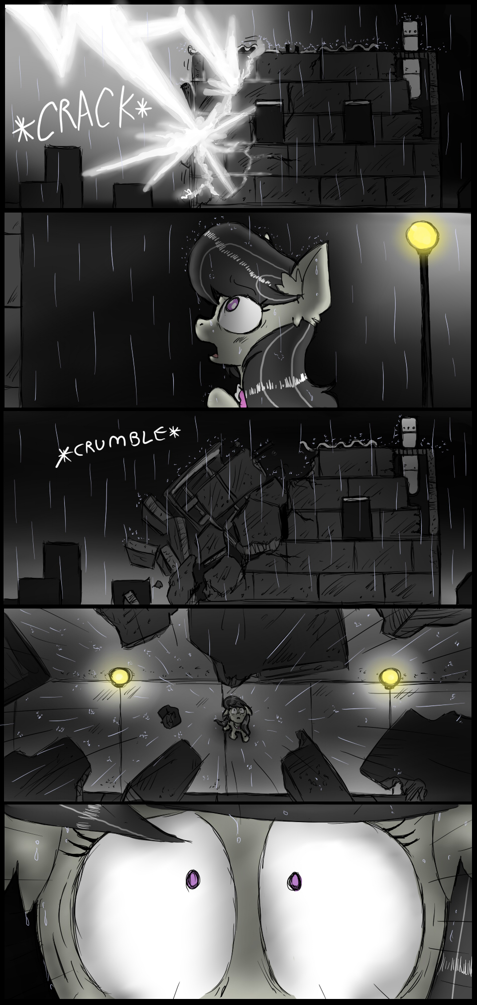 The Crumbling (Page 5) by IchibanGravity