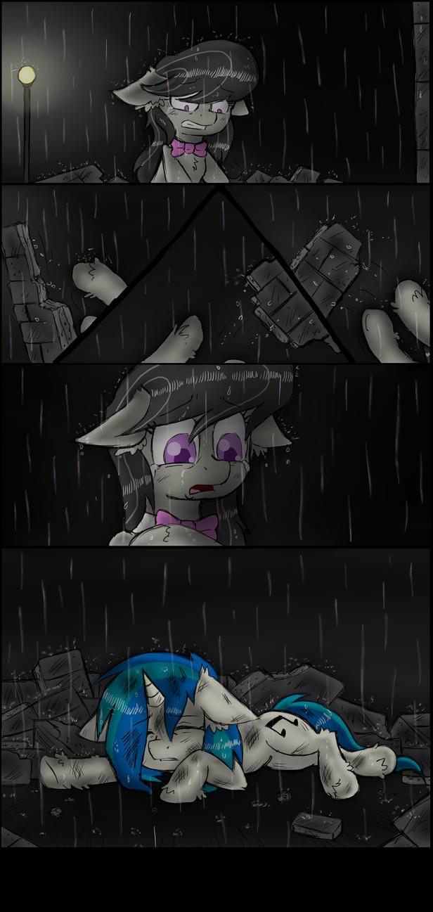 Darkness Steps In (Page 7) by IchibanGravity