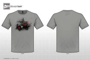 dA T-Shirt Logo Entry - dAStar by LowTechGrrl