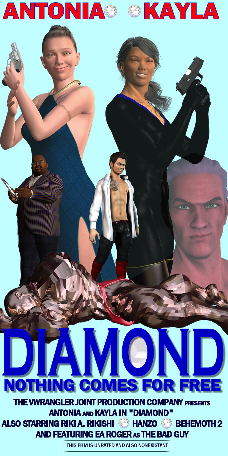 Diamond: the poster by vwrangler