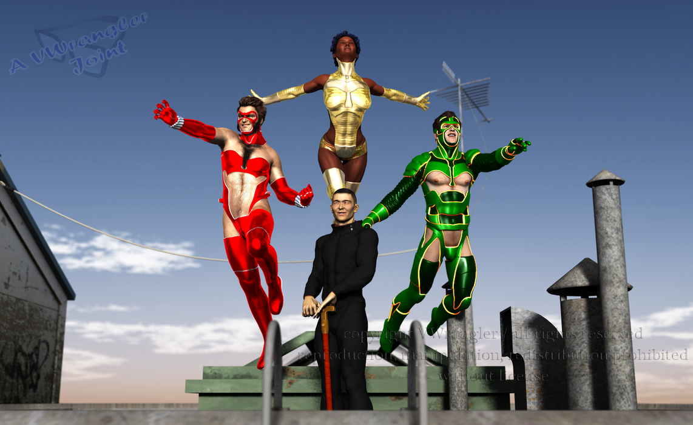 Supersuit Trio by vwrangler