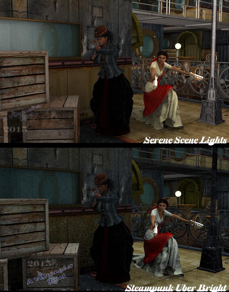 Honorine Holmes Investigates - Steampunk Style by vwrangler