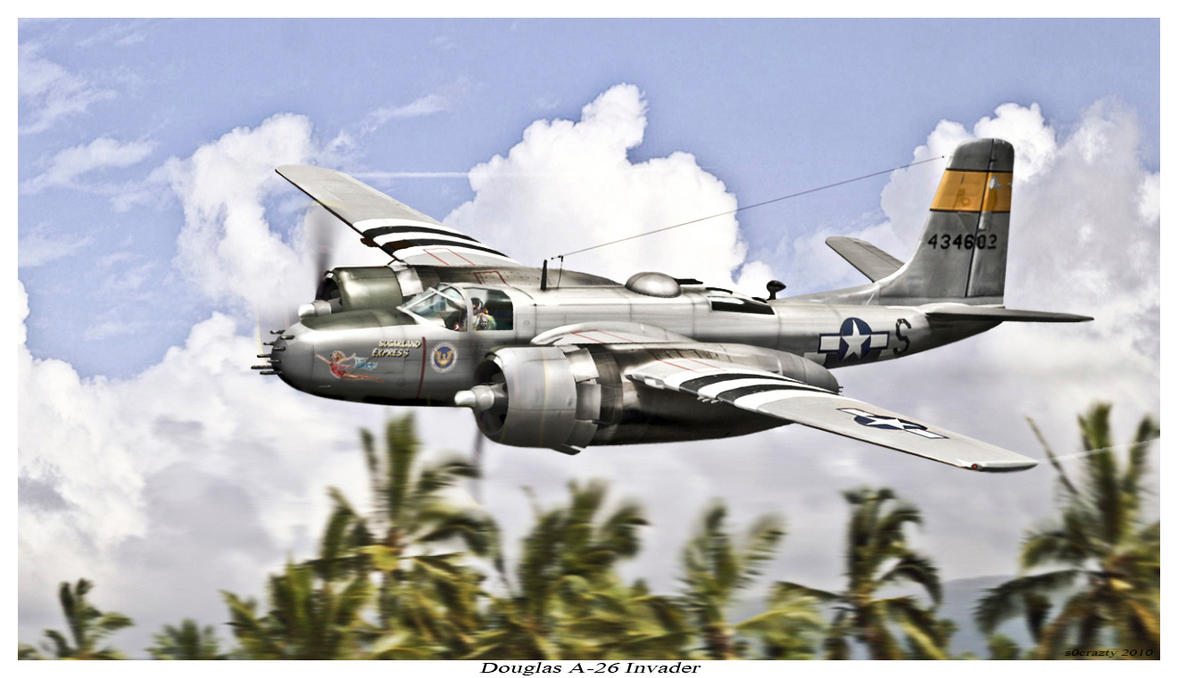 Douglas A-26 Invader by rOEN911