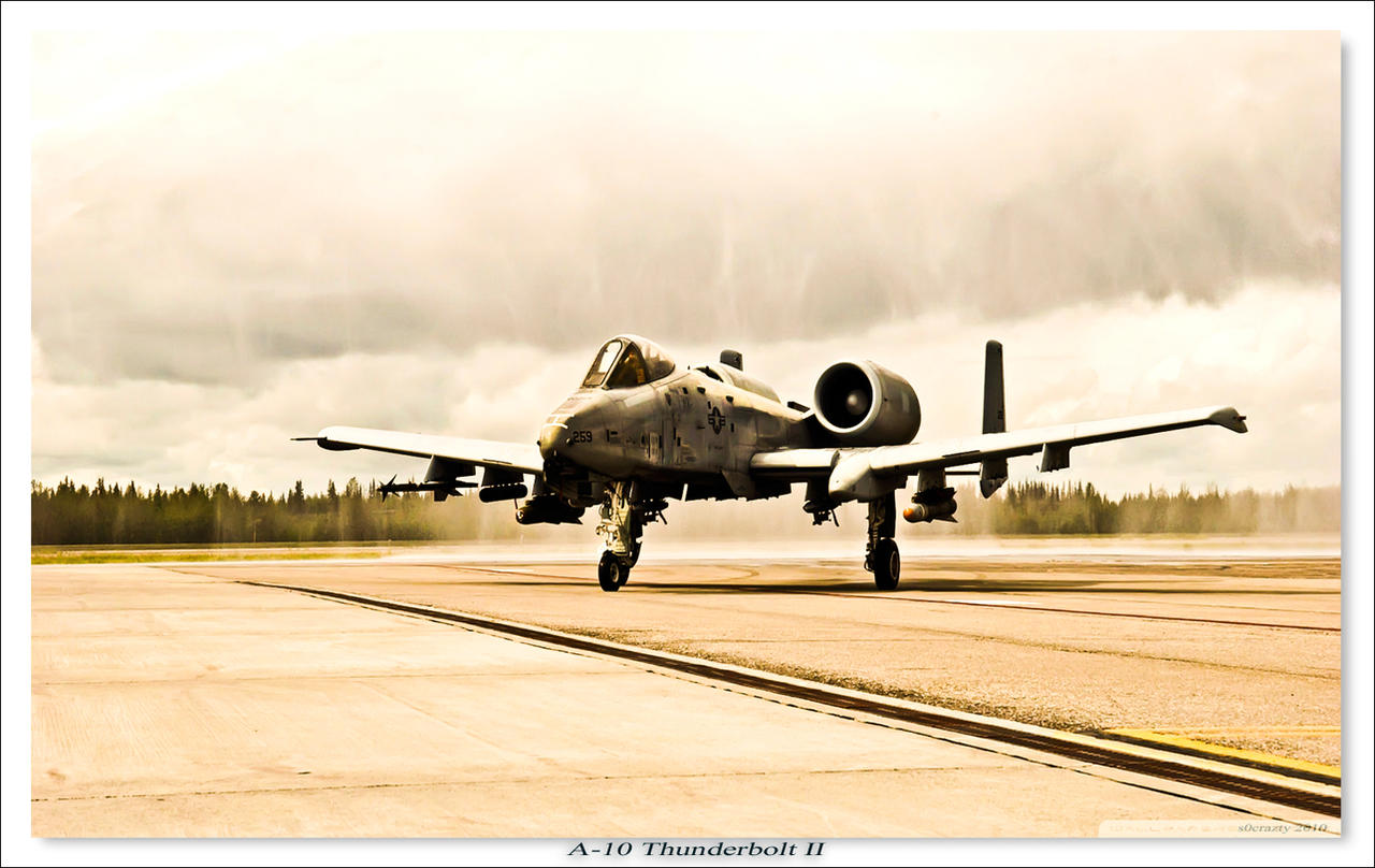 A-10 thunderbolt by rOEN911