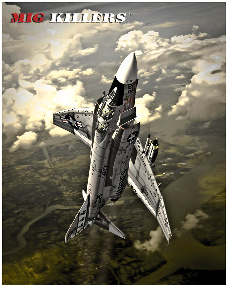 F-4 Phantom : MIG KILLERS by rOEN911