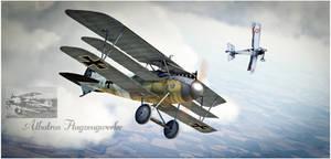Triplane Madness 1917